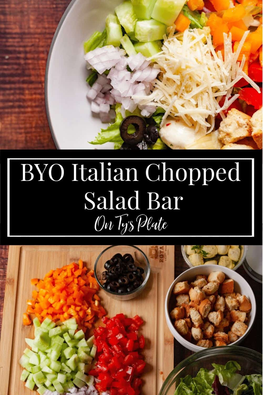 Italian Chopped Salad Bar
