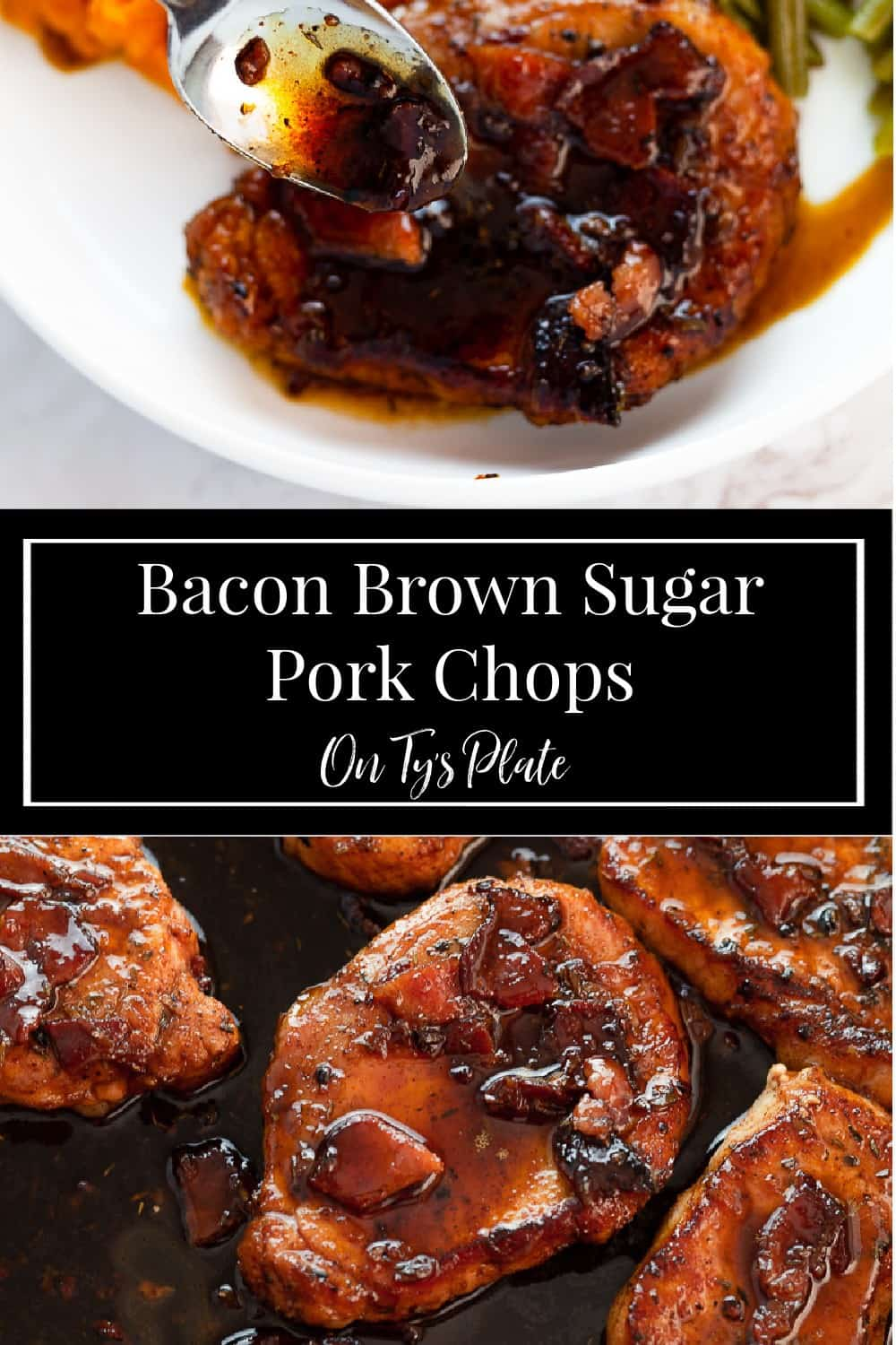 Bacon Brown Sugar Pork Chops