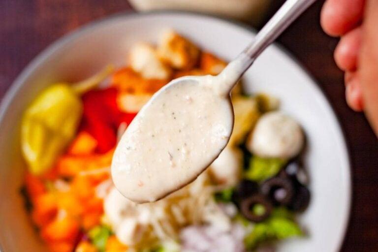 Easy Creamy Italian Salad Dressing