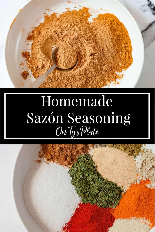 Homemade Sazón Seasoning