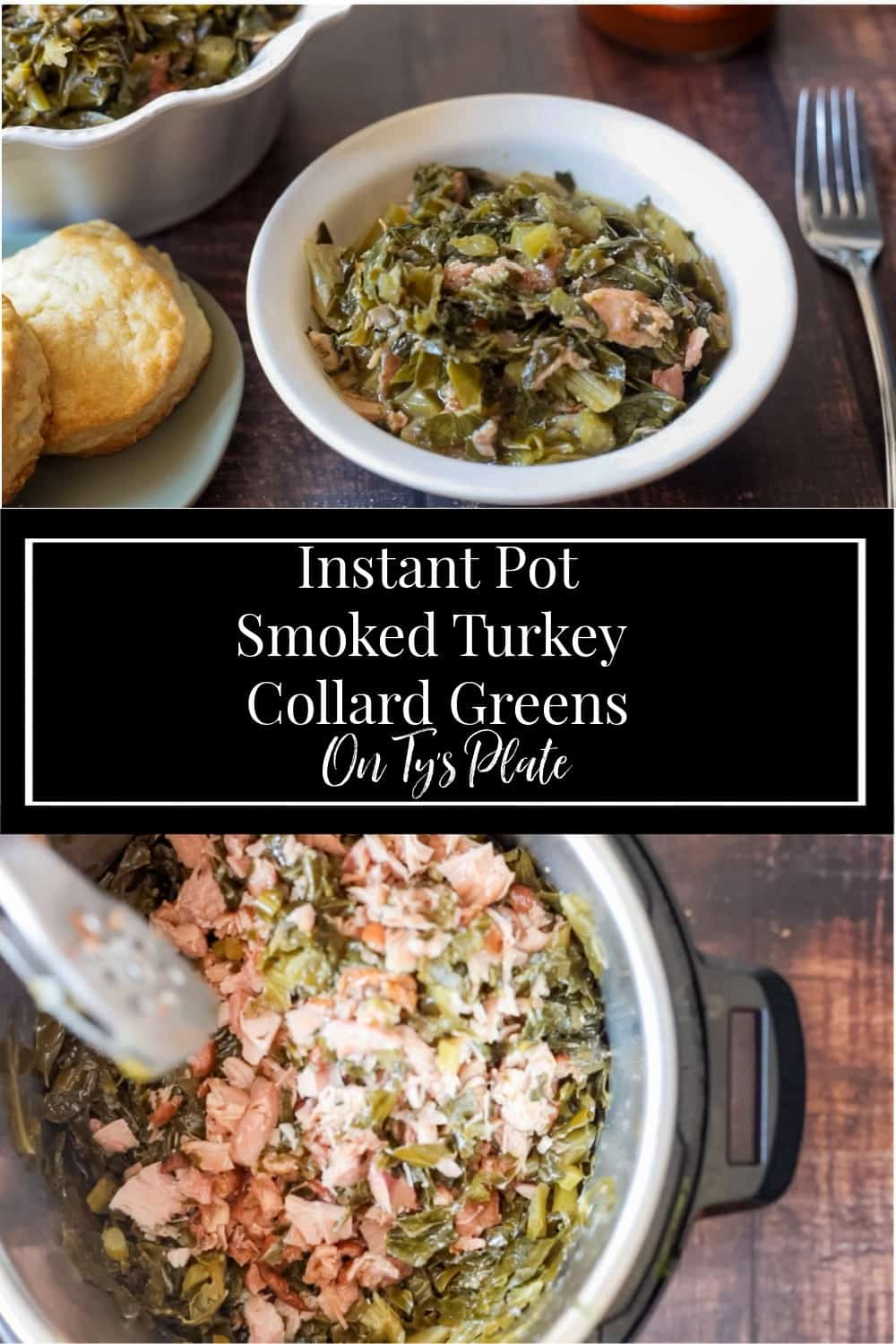 Southern Smoked Turkey Collard Greens