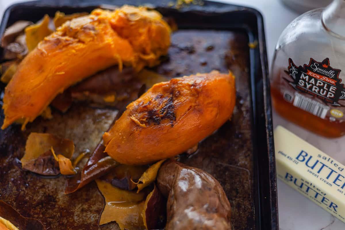 mashed sweet potato ingredients