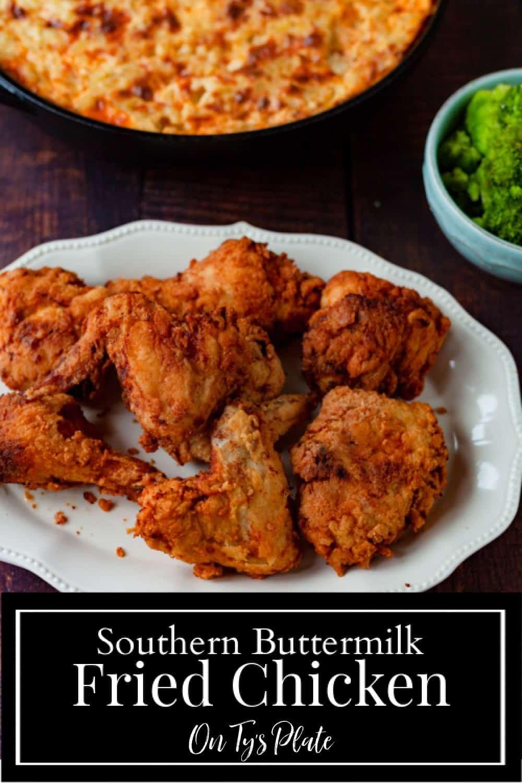 Southern Buttermilk Fried Chicken
