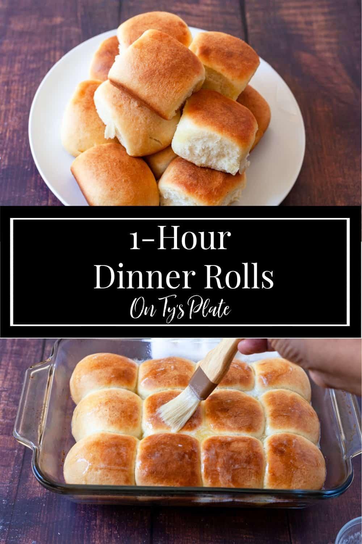 1-Hour Dinner Rolls