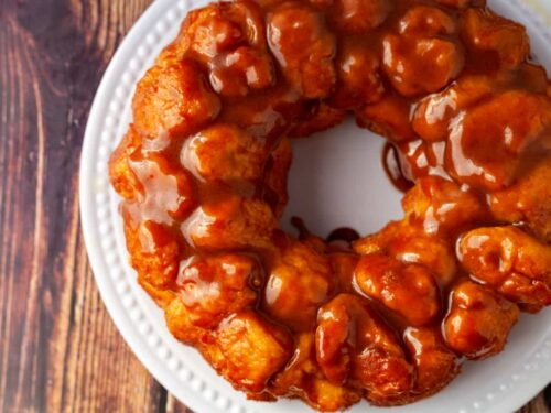monkey bread ring close up