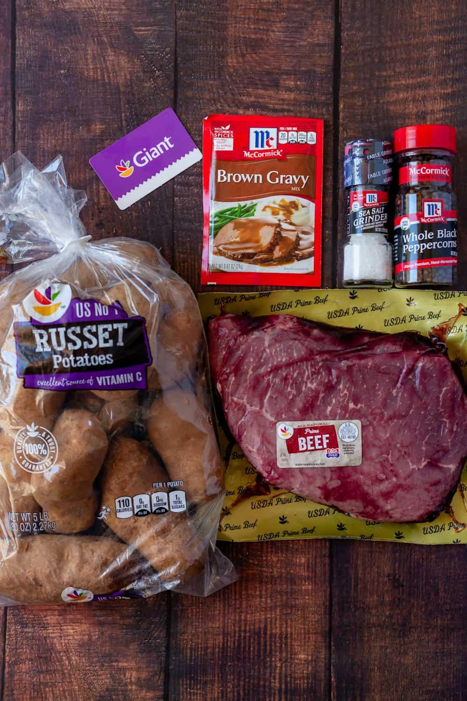 top round roast ingredients