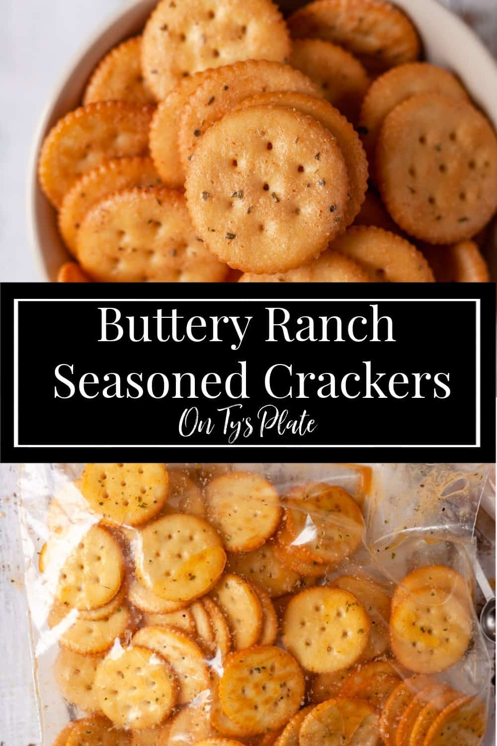 Spicy Buttery Ranch Seasoned Crackers