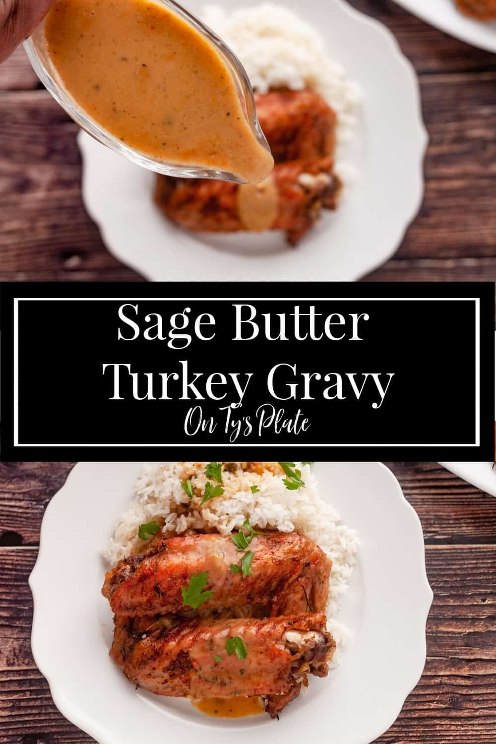 Sage Butter Turkey Gravy