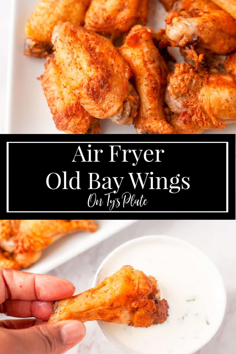 Air Fryer Old Bay Wings