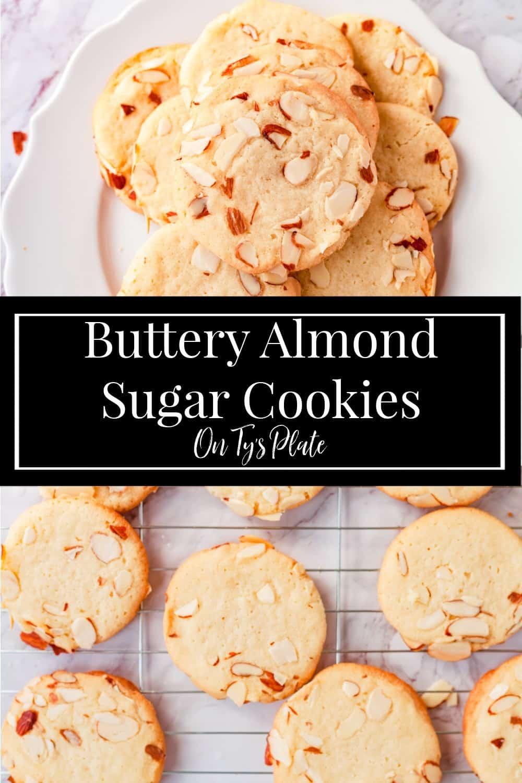 Buttery Almond Sugar Cookies