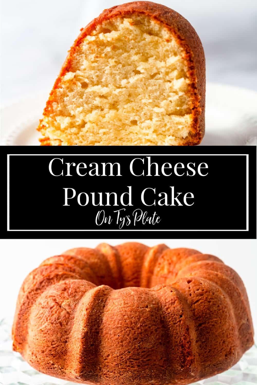Classic Cream Cheese Pound Cake