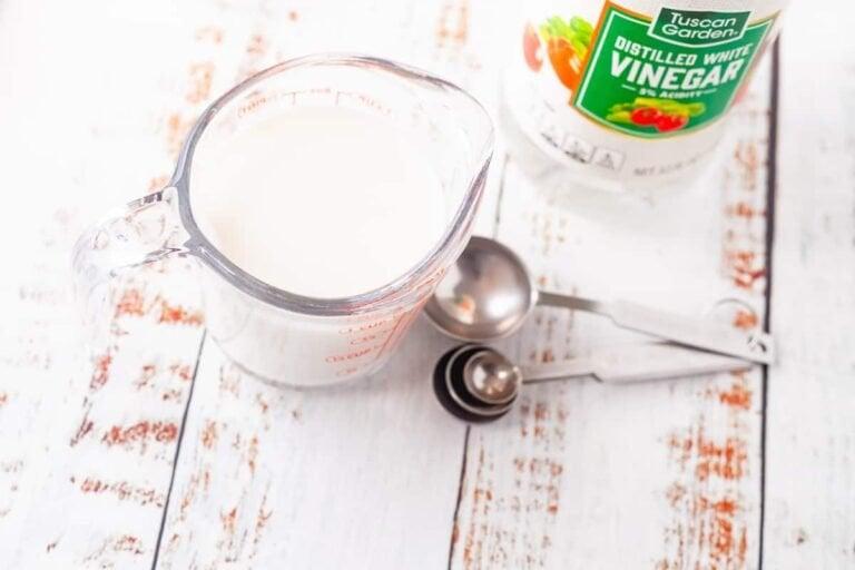 DIY Homemade Buttermilk