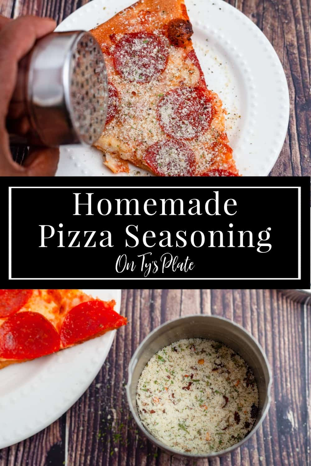 Homemade Pizza Seasoning