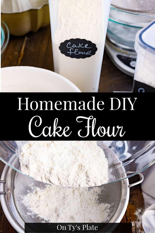 DIY Homemade Cake Flour