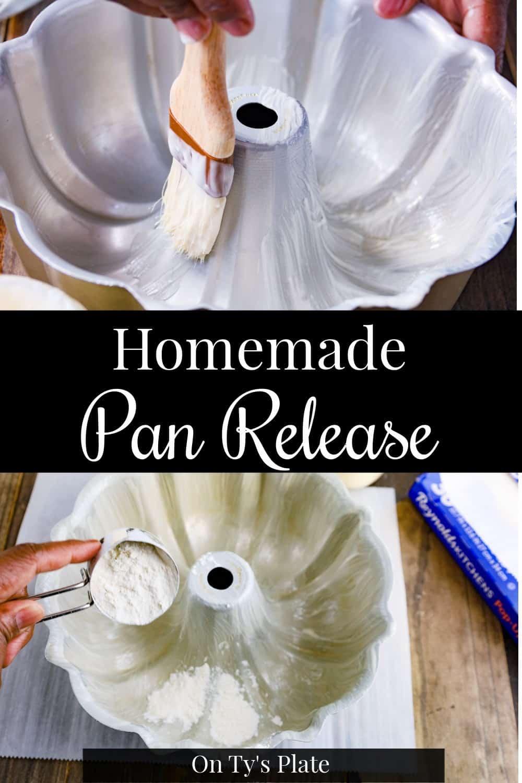 Homemade Pan Release Paste